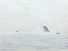 """Antarctica 5 Nunatak"", acrylic on canvas, 18'' x 22'', 2006"