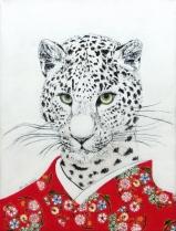 """Wild At Heart II"", acrylic on canvas, 16'' x 12'', 2015"