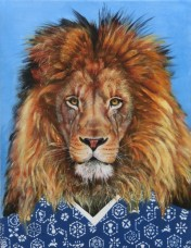 """Wild At Heart IIV"", acrylic on canvas, 16'' x 12'', 2015"