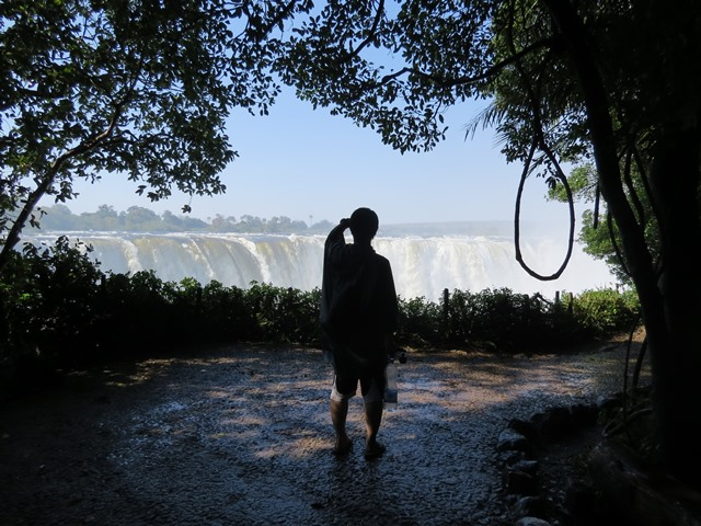 Nobody can resist the urge to take photos, Victoria Falls, Zimbabwe, May 2016