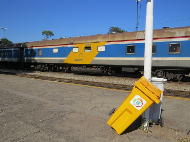 Railway station, Victoria Falls, Zimbabwe, May 2016