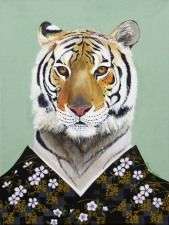 """Wild At Heart XIV"", acrylic on canvas, 12'' x 16'', 2016"