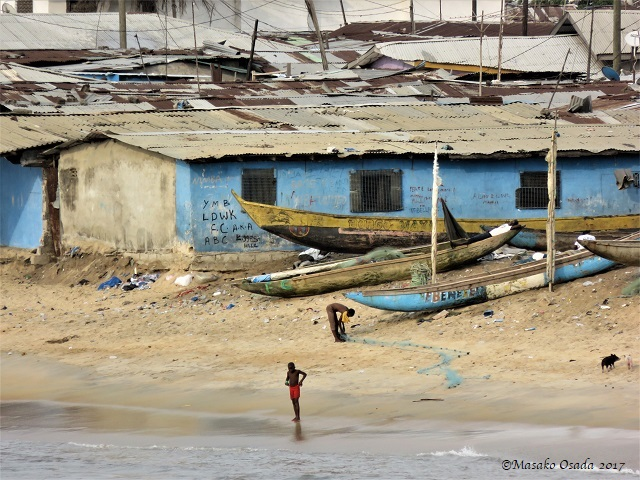 West Point, Monrovia, Liberia, April 2017