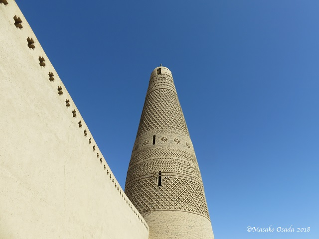 Emin Minaret. Turpan, Xinjiang, September 2018