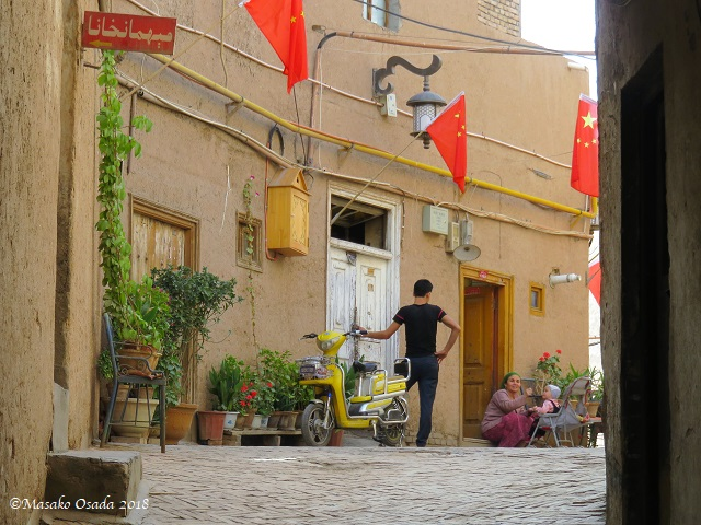 Old City, Kashgar, Xinjiang, September 2018