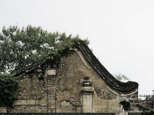 Old house. Dujiangyan, Sichuan, September 2018