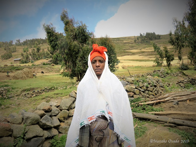 Young wife. Laydarcha village, GCCA, Ethiopia, November 2018