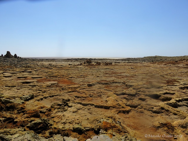 Dallol, Ethiopia, January 2019