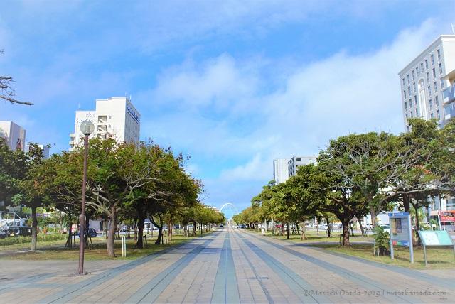 Pedestrian road, Naha, Okinawa, November 2019