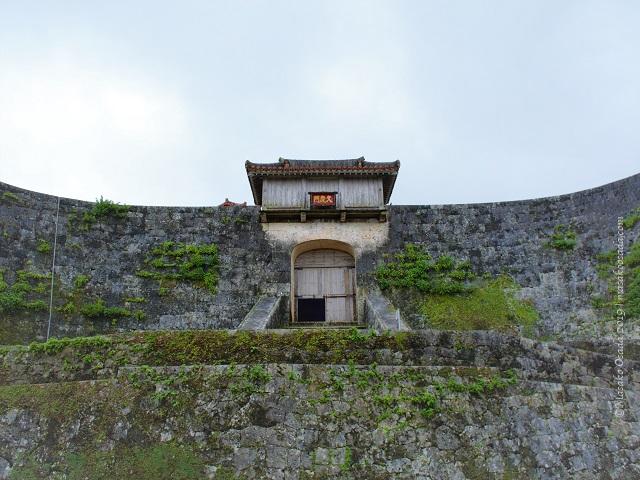 Gate at Shuri Castle, Naha, Okinawa, November 2019